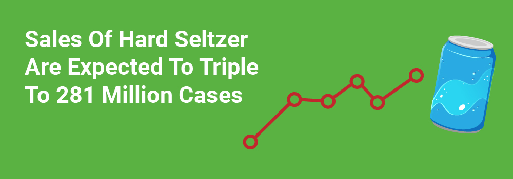 Seltzer Sales In The US