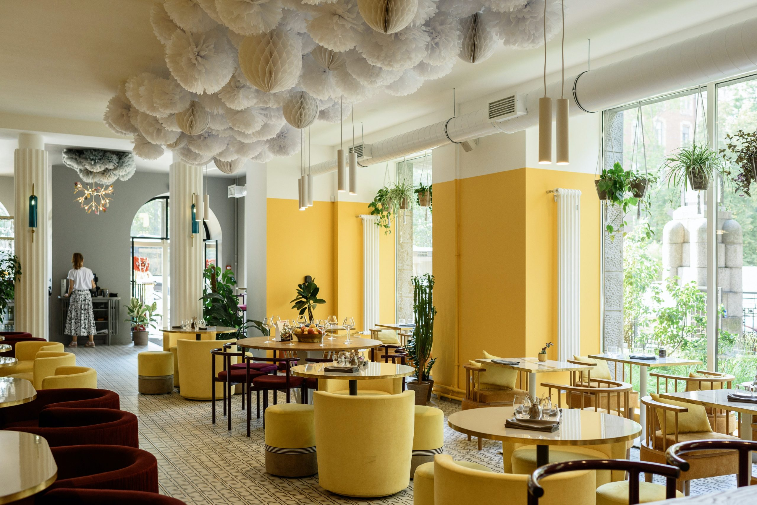 Warm Dining Area