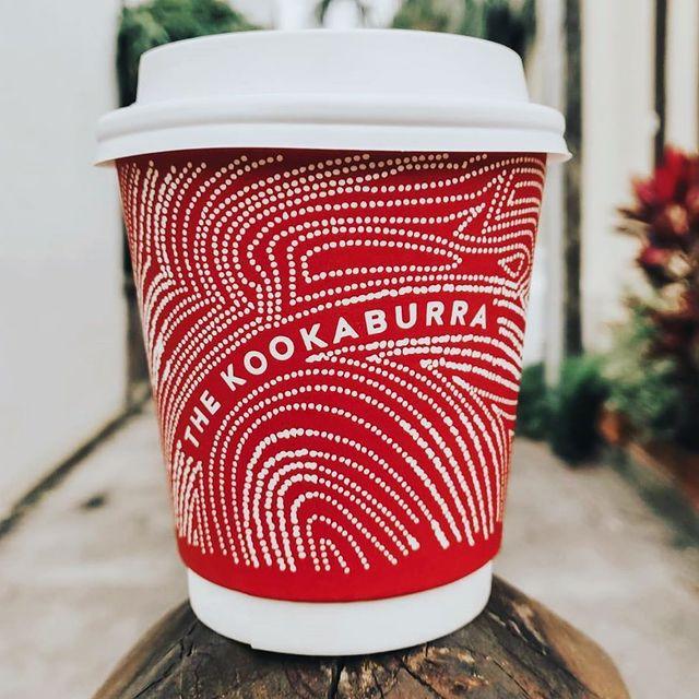 kookaburra coffee cups