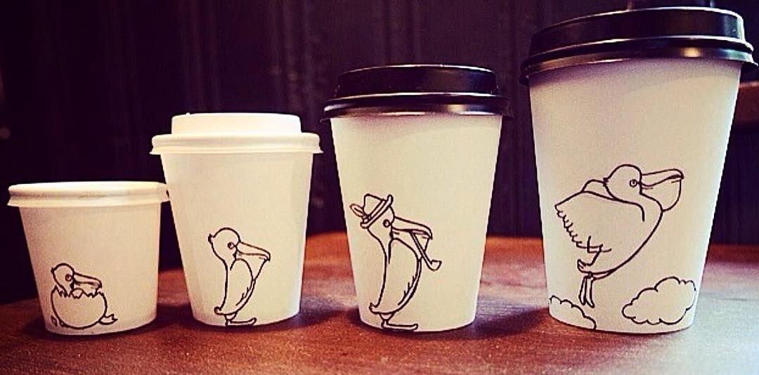 Pelicano House Coffee Cups