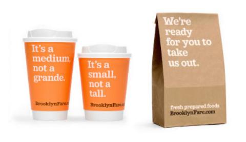 Brooklyn Fare bags