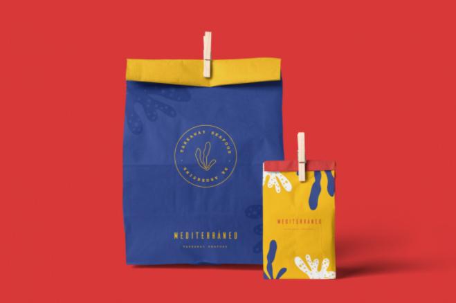 Mediteranneo Take-Out Bag