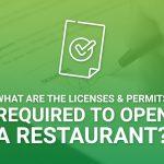 Licenses & Permits For Restaurants