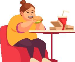 American Eating Fast Food